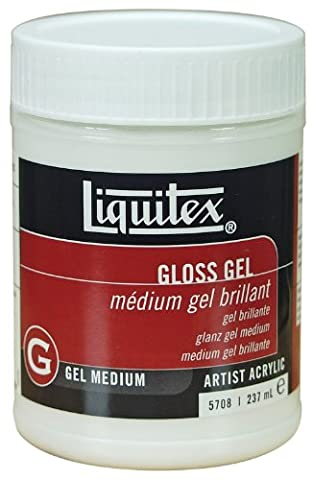Liquitex Professional Gloss Gel Medium - 237 ml,