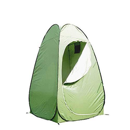 LDPB Camping WC Zelt, wasserdicht und Winddicht im Freien Einfache Installation Einfach zu verwendendes Einzelzelt, 120X120X195CM Badezimmer, Dusche, Angeln, geräumigeres Campingzelt