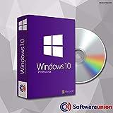 Windows 10 Pro 32 Bit & 64 Bit - Original Lizenzschlüssel mit DVD von - SWU Softwareunion