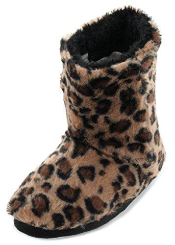 SlumberzzZ, Pantofole donna Marrone (marrone)