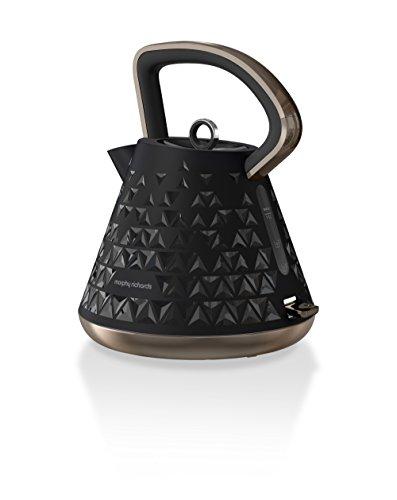 Morphy Richards 108101EE Prism Wasserkocher, 1,5 L, schwarz