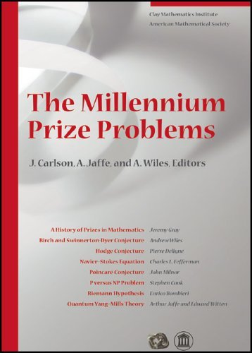 The Millennium Prize Problems by Arthur Jaffe and Andrew Wiles (editors) James Carlson (2006-06-01)