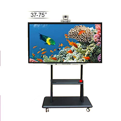 37 Flat Panel Tv Stand (Xue Höhenanpassungsfernseher Stand, TV-Cart Für 37-84 Zoll LED LCD Plasma-TV Flat Panel Zeigt 360 ° Swivel Wheels Bedroom Klassenzimmer Meeting Raum Video Call Wire Management)