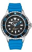 Nautica A18631G - Reloj analógico de cuarzo para hombre, correa de silicona color azul de Nautica