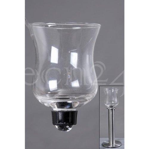 Teelichthalter aus Glas für Kerzenleuchter