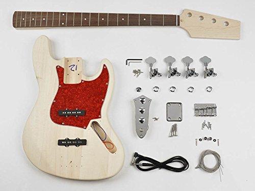 Jazz bass built your own hardware bass guitar builder kit new KIT-JB-10