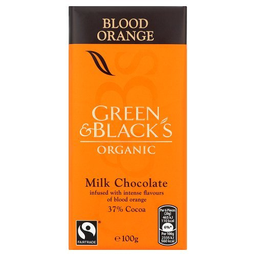 Green & Black's Organic Milk Chocolate with Orange 100g