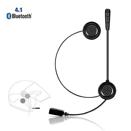 Lemnoi E1 Auriculares Motocicleta Cascos Bluetooth 4.1, Bluetooth Manos Libres Moto Casco...