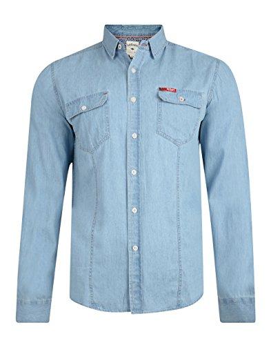 Lee Cooper charrisworth Jeans di cotone a maniche lunghe Denim Light Wash Small