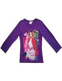 Violetta - Tee shirt manches longues Violetta violet Taille de 4 à 12 ans - 4 ans,6 ans,8 ans,10 ans,12 ans,5 ans