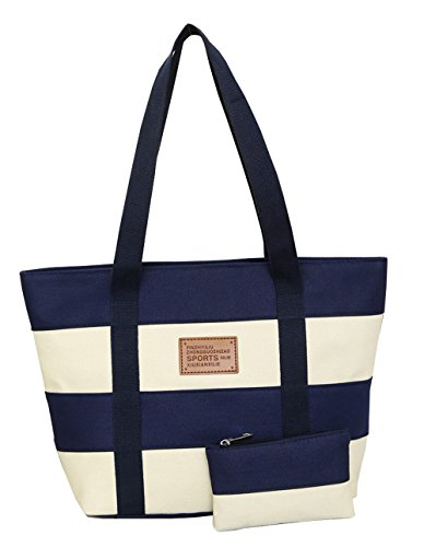 Jothin - Borse a spalla Ragazza donna unisex adulti Navy blue