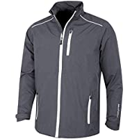 Island Green Men's Zip Through Waterproof Jacket