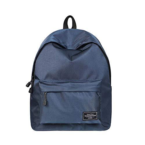 Mr. Right Schulrucksack Unisex Schultaschen Freizeitrucksack Mädchen Teenager Reise Rucksack Backpack Daypacks Kinderrucksäcke (Blau)