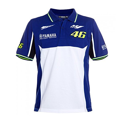 Yamaha Polo Valentino Rossi Vr46 Yamaha Factory Racing Team Moto Gp Official T Shirt 2016 2017 Mf1