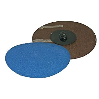 CONNECT - 32098 ABRACS QUICK LOCK SANDING DISCS 50MM X P120 PACK 25 by Connect