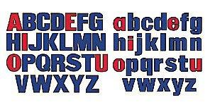 Little Folk Visuals Alphabet Felt Set