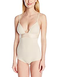 Maidenform Endlessly Smooth Plunge Bodybriefer, Body para Mujer