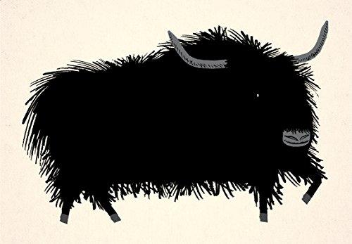 Die Yak - Kunst Poster drucken -