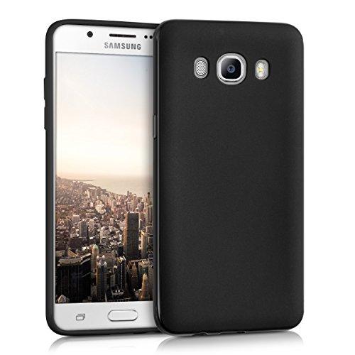 kwmobile Samsung Galaxy J5 (2016) DUOS Hülle - Handyhülle für Samsung Galaxy J5 (2016) DUOS - Handy Case in Schwarz matt
