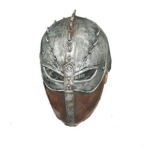 Rwdacfs Masken für Erwachsene,Latex Maske weichen Perücke TV Charakter Masquerade Ball Requisiten