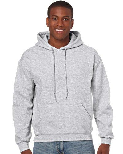 Gildan Heavy Blend Erwachsenen Kapuzen-Sweatshirt 18500 Grey Ash, S