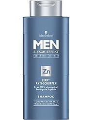 Men Zink Anti-Schuppen Shampoo, 4er Pack (4 x 250 ml)