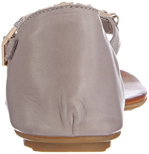 Inuovo BREEZE, Damen Sandalen Grau (Grey Leather)