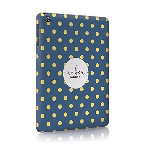 Personalisierbar Floral Blumen Shabby Chic Streifen Linien Polka Früchte Wassermelone Zitronen Gestreift Sommer Fall Hard Cover Custom tirita Initialen 12 iPad Mini 2