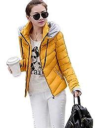 neuda Damen Winterjacke Wintermantel Kurz Daunenjacke Jacke Outwear warme Damen  Winter Jacke Parka Mantel Stepp Kurzjacke 9462401526