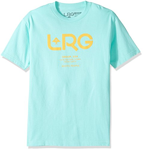 LRG Hombres Ropa superior / Camiseta Earth Down