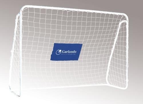 Garlando Fussballtor Field Match Pro cm 300X200 Silber/Schwarz