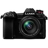 Panasonic Lumix DC-G9MEB-K - G9 Mirrorless Camera with Lumix 12-60 F3.5-F5.6 - Black