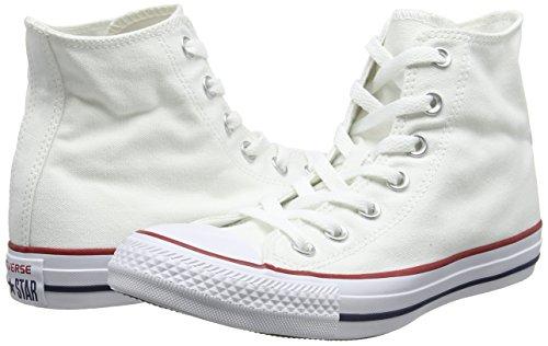 Converse Converse Sneakers Chuck Taylor All Star M7650, Unisex-Erwachsene Hohe Sneakers, Weiß (Optical White), 43 EU (9.5 Erwachsene UK) - 5