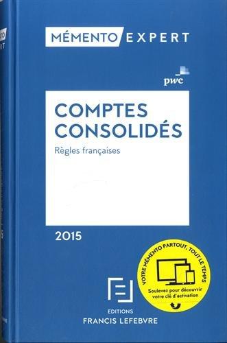 Mémento Comptes consolidés 2015