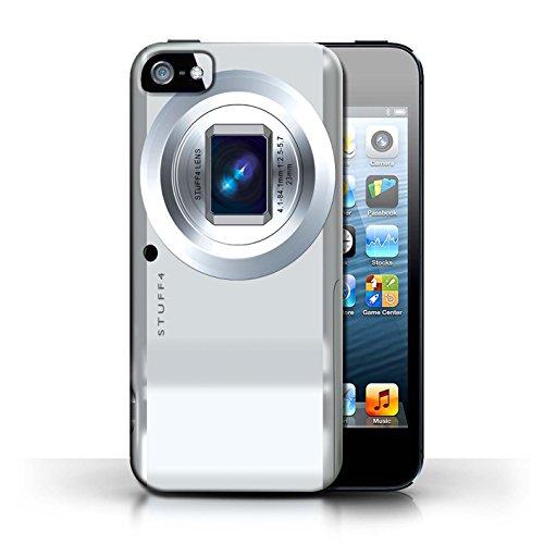 Coque en plastique pour Apple iPhone 5/5S Collection Appareil Photo - Instantanée Retro Compact