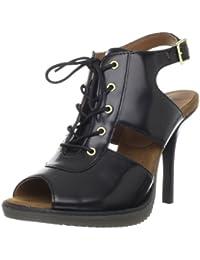 Dr. Martens Damen CAITIN Brando Black Klassische Stiefel