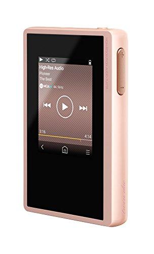Pioneer Digital Audio Player, XDP-02U-P, High-Res Audio, 16 GB Speicher, Dual microSD Kartensteckplatz, 15 Stunden Wiedergabezeit, WLAN, Bluetooth, Streaming, Rosa, 1500570