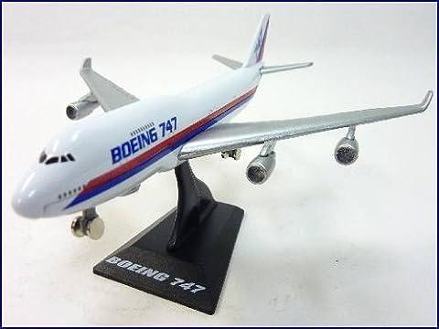 WELLY Jumbo-Jet Boeing 747 Passagierflugzeug Flugzeug-Modell