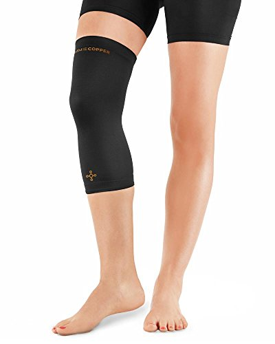 Tommie Copper Women's Recovery Refresh Knee Sleeve, Black, Small