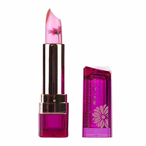 TOPBeauty Gelee Blumen Lippenstift Wasserdichte Long Lasting Lip Balm Color Change Magie Matte Jelly...
