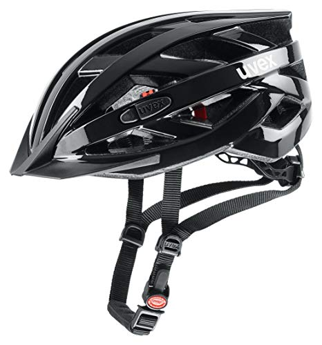 Uvex I-VO 3D Fahrradhelm, Black, 52-57 cm