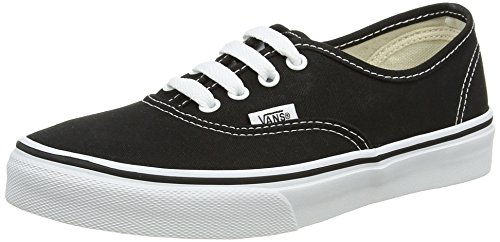 Vans K AUTHENTIC (WASHED) STARS/, Unisex-Kinder Sneaker, Schwarz (Black/True Whit 6BT), 34 EU (Vans Für Teenager-mädchen)