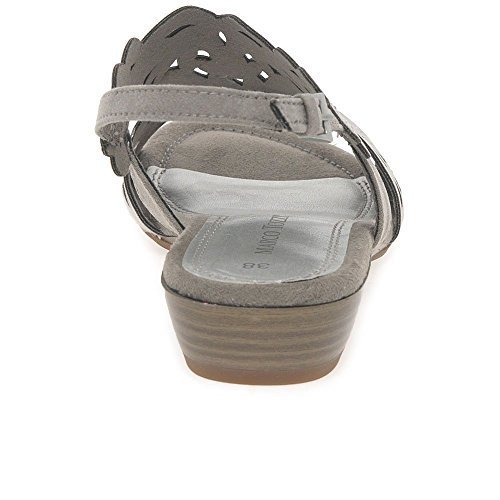 Marco Tozzi Cool Club  48208, Sandales pour fille Taupe