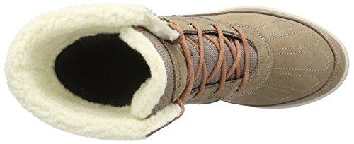 Viking Spark Gtx, Chaussures Bateau Femme Beige - Beige (Taupe/Red 9010)