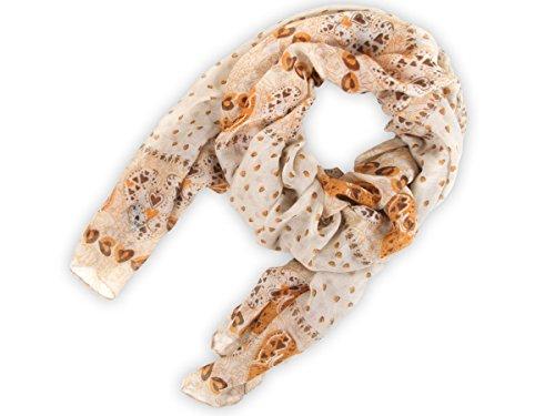 Sciarpa circolare, foulard da donna leggero e