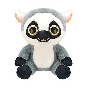Wild Planet- Orbys-Juguete de Peluche Lemure 15cm Hecho a Mano, (K7708)