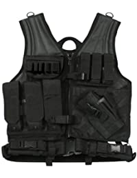 Rothco Tactical Cross Draw Vest, Black