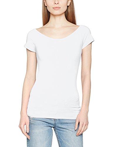 ONLY Damen T-Shirt Onllive Love Ss Off Shoulder Top Noos Weiß (White White)