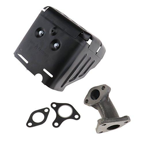 Erstellen ideal Schalldämpfer Auspuff Montage mit Ansaugkrümmer Ersatz Zubehör für Auto Motor Motor