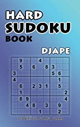 Hard Sudoku Book: 200 Difficult Sudoku Puzzles: Volume 1
